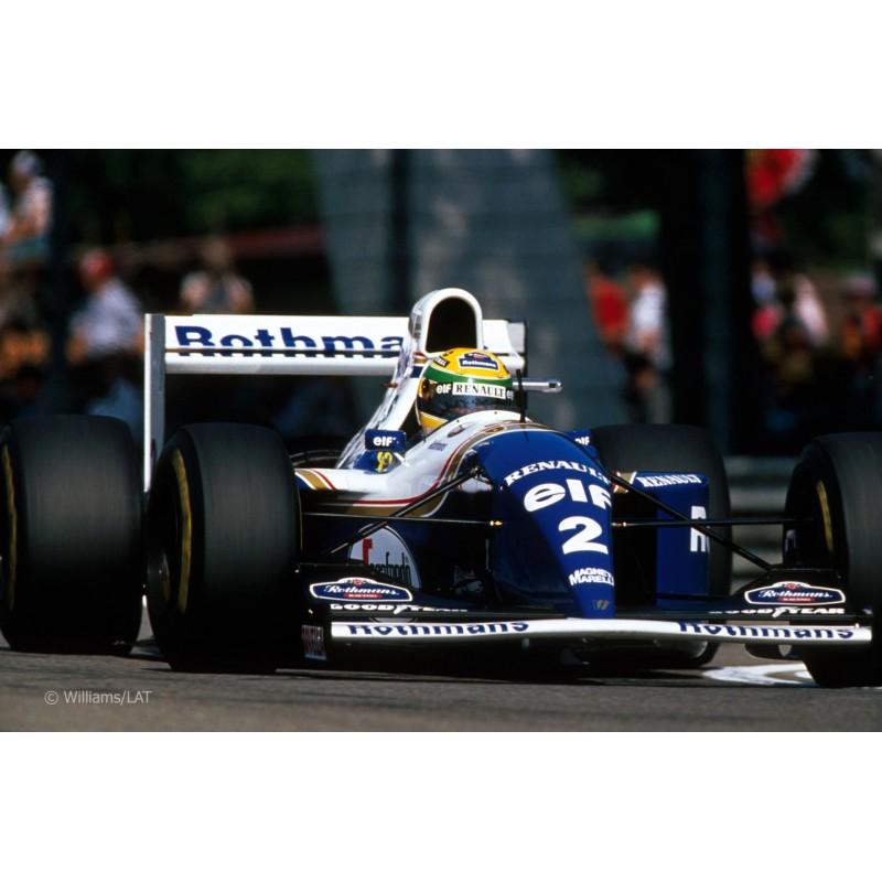 Williams Renault Fw16 0 Damon Hill 2nd Place Formula One: Williams Renault FW16 F1 Imola 1994 Ayrton Senna