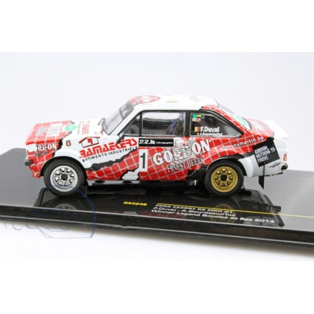 Ford Escort RS MKII 1 Legend Boucles de Spa 2014 Duval Bourdeaud'hui IXO RAC246