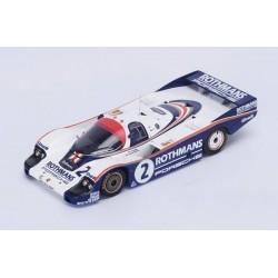 Porsche 956 2 24 Heures du Mans 1982 Spark S4756