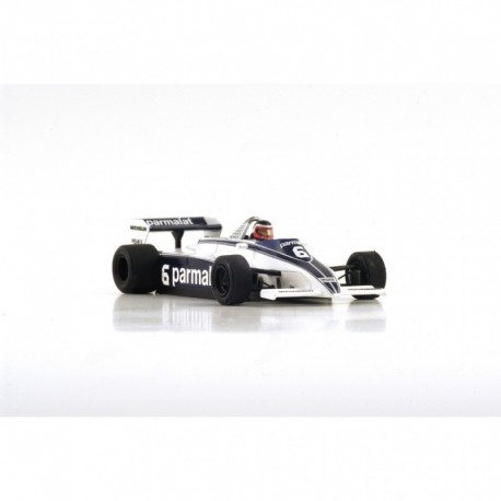 Brabham BT49 F1 Monaco 1981 Hector Rebaque Spark S4348