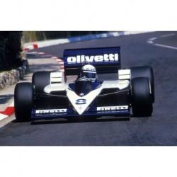 Brabham BT55 F1 Monaco 1986 Elio de Angelis Spark S4350