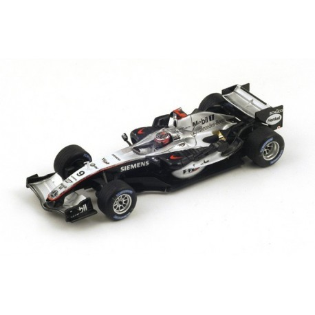 McLaren MP4/20 F1 Monaco 2005 Kimi Raikkonen Spark S4363