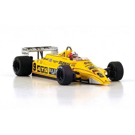 ATS D4 F1 France 1980 Marc Surer Spark S4365