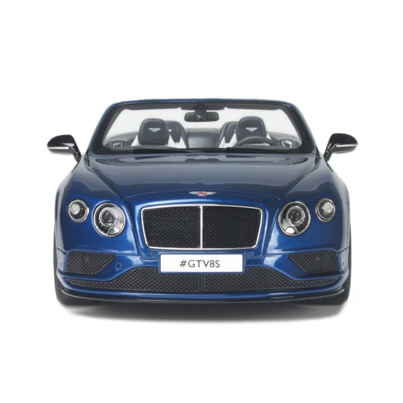 Bentley Continental GT V8 S Cabriolet 2015 Bleue GT Spirit