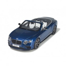 Bentley Continental GT V8 S Cabriolet 2015 Bleue GT Spirit GT076