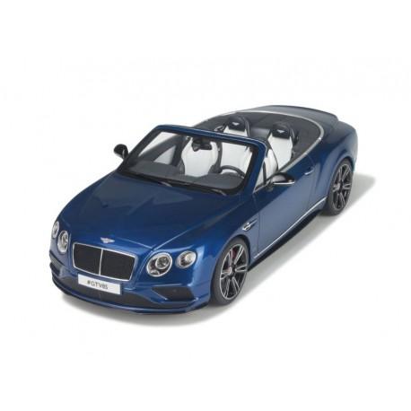 Bentley Continental GT V8 S Cabriolet 2015 Bleue GT Spirit GT076
