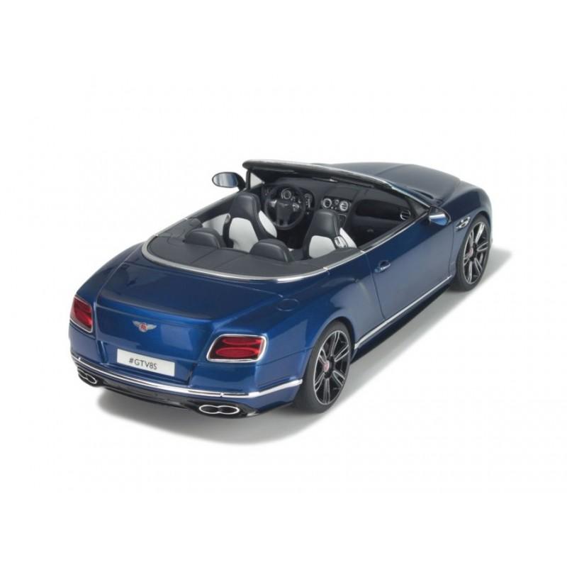 Bentley Continental GT V8 S Cabriolet 2015 Bleue GT Spirit