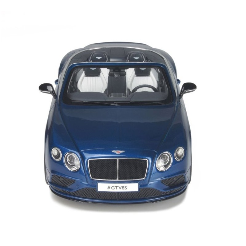 Bentley Continental Gt 2015: Bentley Continental GT V8 S Cabriolet 2015 Bleue GT Spirit