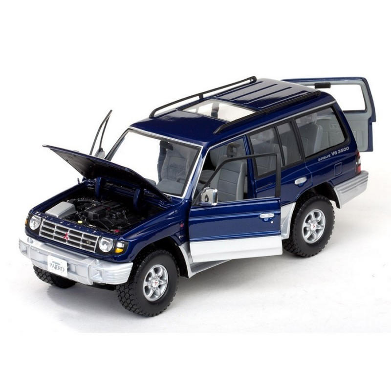 Mitsubishi Shogun: Mitsubishi Pajero Long 3.5 V6 1998 Bleu Sunstar SS1223