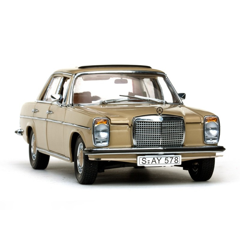 mercedes benz strich 8 saloon 1968 marron sunstar ss4578 miniatures minichamps. Black Bedroom Furniture Sets. Home Design Ideas