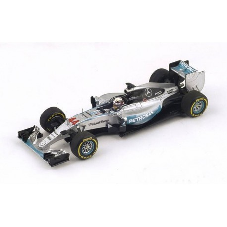 Mercedes W06 F1 Australie 2015 Lewis Hamilton Spark S4600