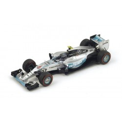 Mercedes W06 F1 2015 Nico Rosberg Spark S4601