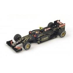 Lotus E23 F1 2015 Pastor Maldonado Spark S4607