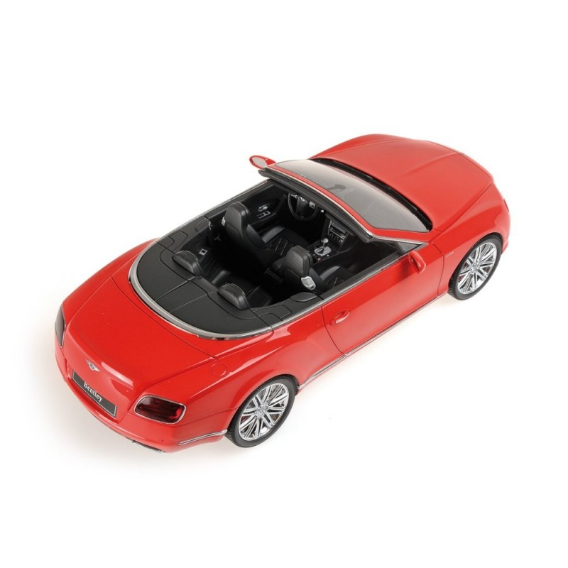 One For The Ladies Bentley Continental Gt Pink: Bentley Continental GT 2013 Rouge Minichamps 107139330