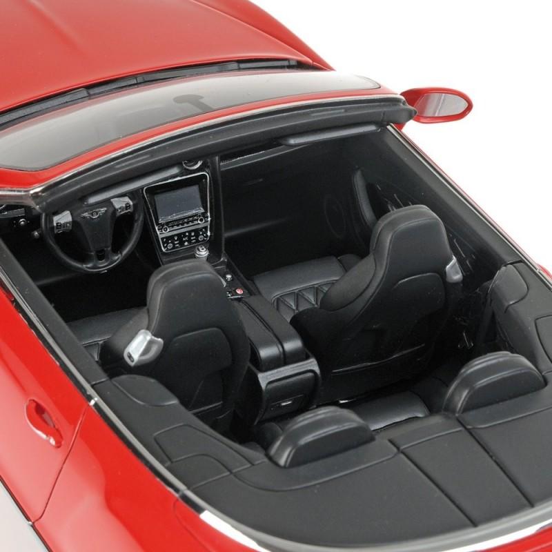 2013 Bentley Continental Gt Speed Convertible: Bentley Continental GT 2013 Rouge Minichamps 107139330