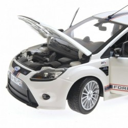 Ford Focus RS Tribute Ford MKIIB 2010 Blanche Minichamps 100080167