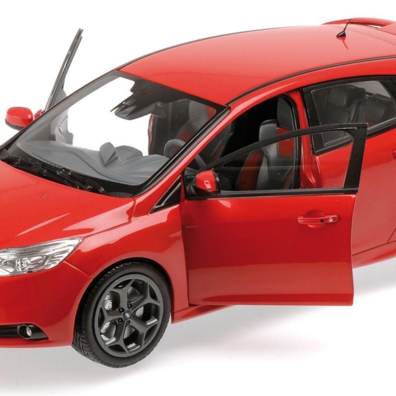 ford focus st 2011 rouge minichamps 110082002 miniatures minichamps. Black Bedroom Furniture Sets. Home Design Ideas
