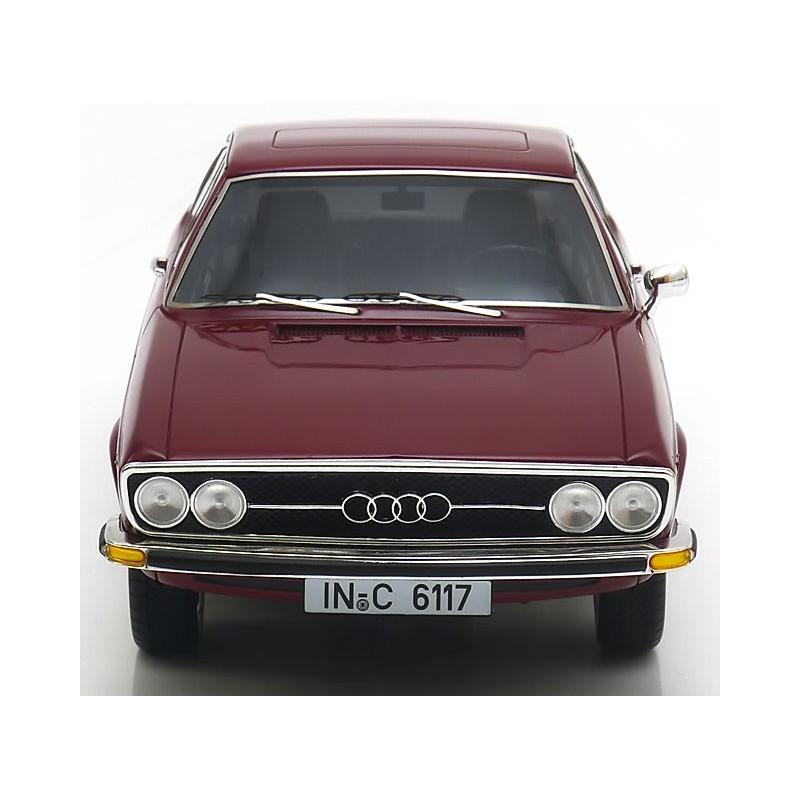 Audi 100 Coupe S 1970 Rouge KK Scale KKRE180002 - Miniatures Minichamps