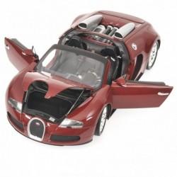 Bugatti Veyron Grand Sport 2010 Rouge Minichamps 100110832