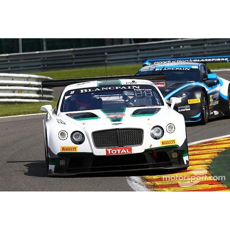 Bentley Continental GT3 8 24 Heures De Spa-Francorchamps